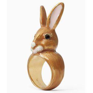 NEW Kate Spade Desert Muse Bunny Rabbit Ring